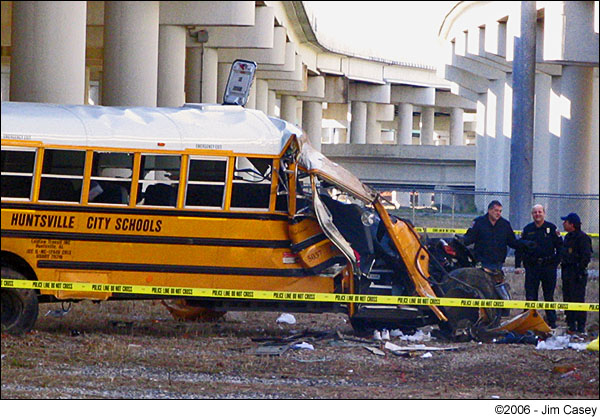 Huntsville Lee High School Bus Massacre